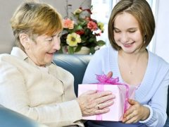 Что можно подарить бабушке?