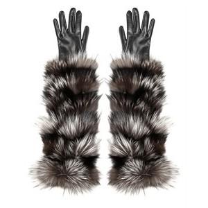 модные перчатки 2012 с мехом