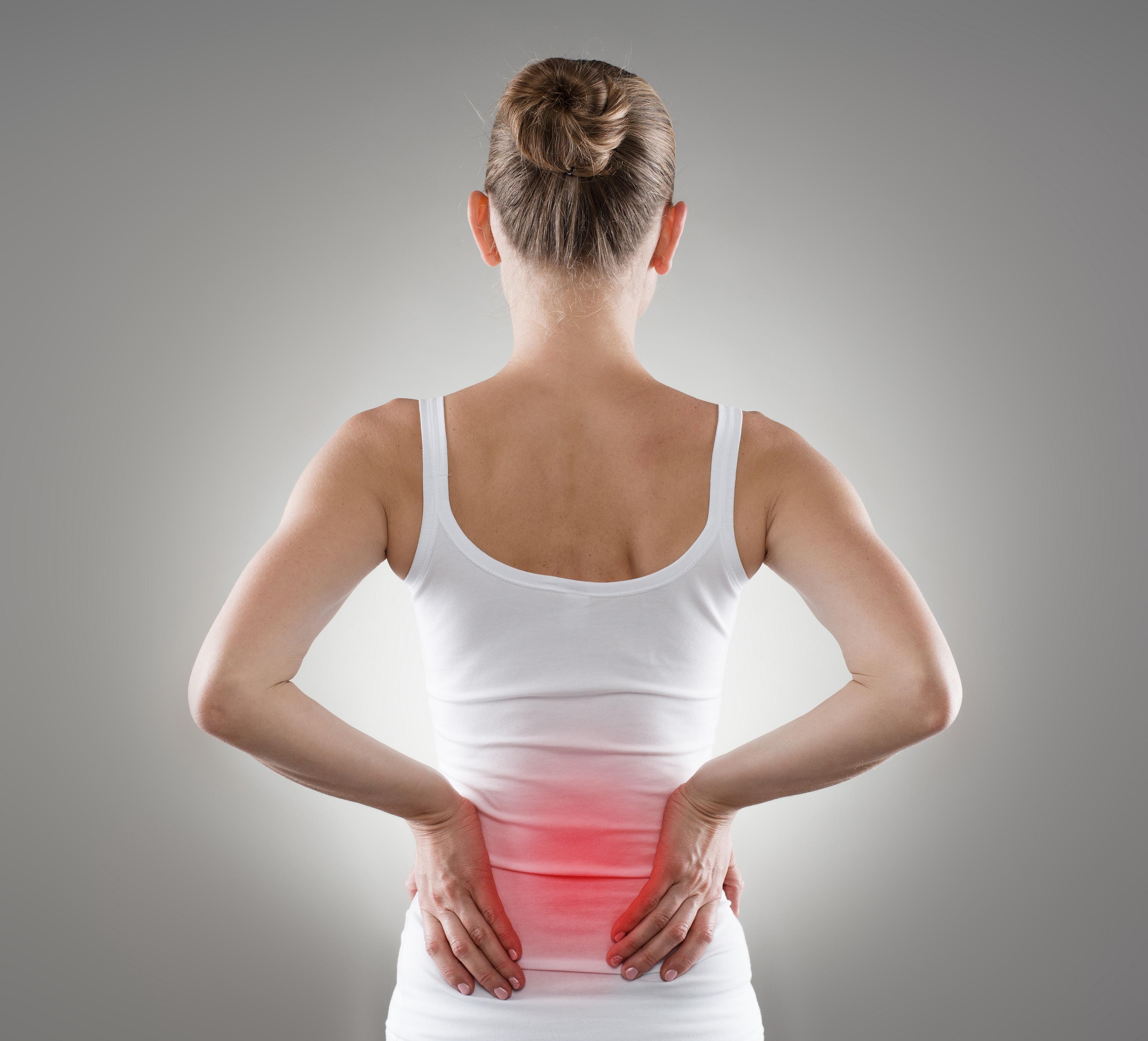 локация боли в спине