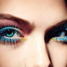 Цветная тушь: как выбрать, как сделать макияж?