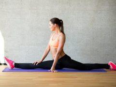 Как быстро сесть на шпагат дома: лучшие упражнения