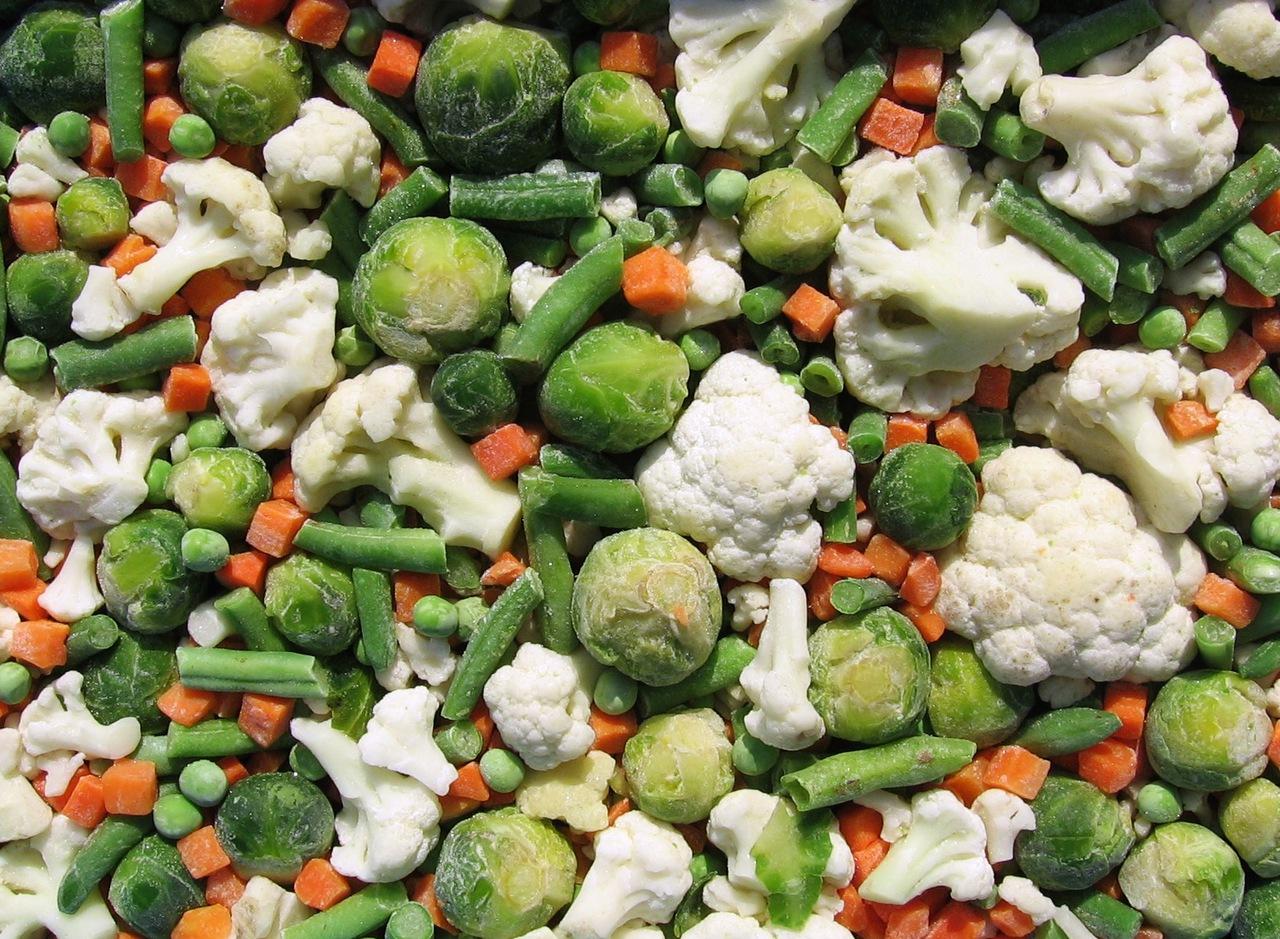 готовить замороженные овощи