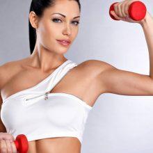 Как накачать мышцы девушке?