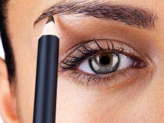 Как нарисовать брови карандашом?
