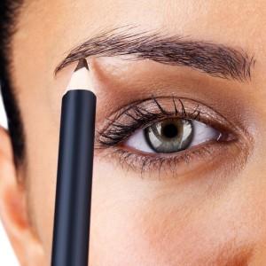 как нарисовать брови карандашом