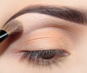 как нарисовать брови тенями