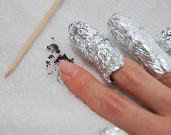 как правильно снять гель с ногтей