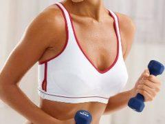 Как увеличить грудь упражнениями?