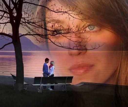 женщина вспоминает о любви