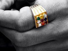 Какие кольца носят мужчины?