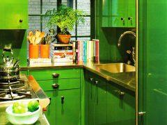 Кухня зеленого цвета: как создать стильный интерьер?