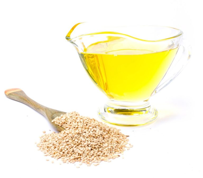 масло и семечки кунжута