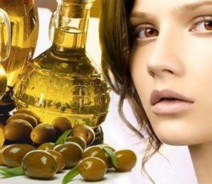 оливковое масло девушка
