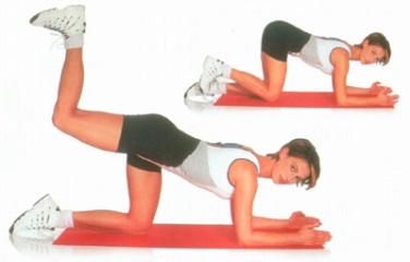 накачать ягодицы упражнения