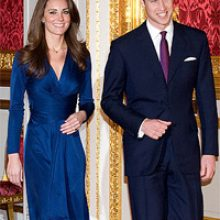 Что носить с синим платьем