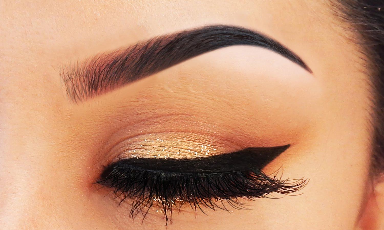 макияж глаза и брови