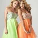 Коктейльные платья для подружек невесты