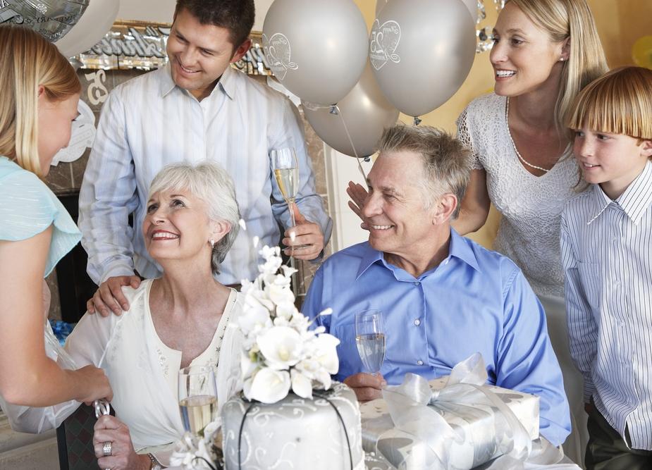 поздравление от родственников с серебряной свадьбой