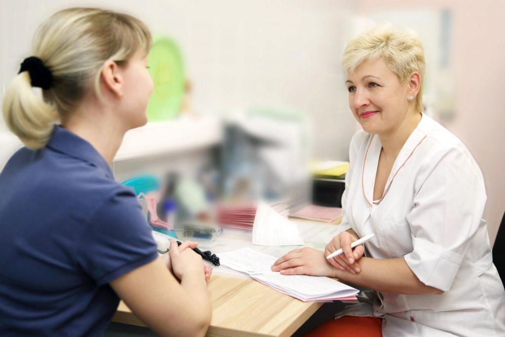 Выделения после осмотра гинеколога