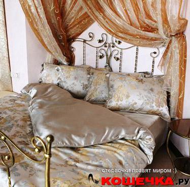 Роскошное постельное белье пастельных оттенков