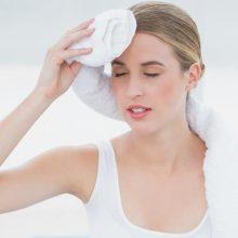 Почему может сильно потеть лицо и голова у женщин?