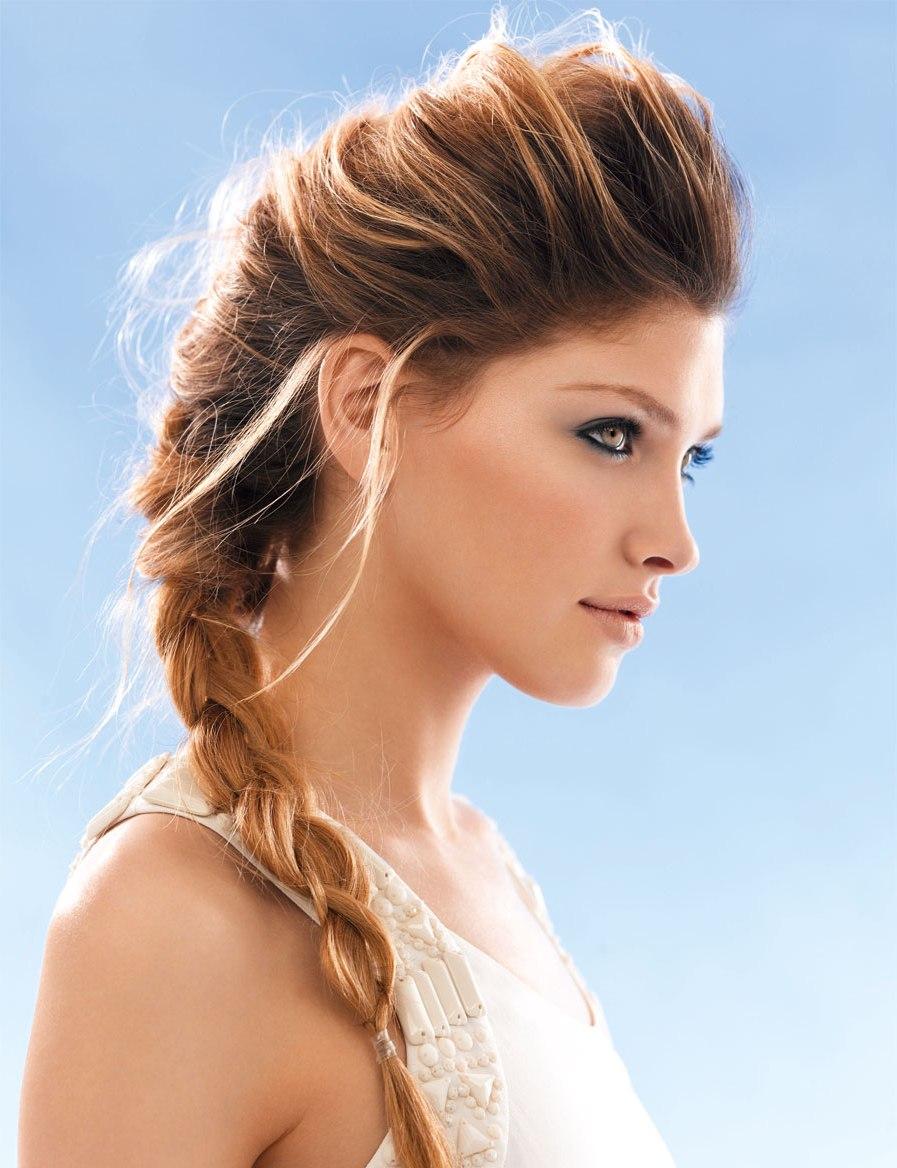 сделать прикорневой объем волос