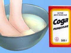 Рецепты с содой против запаха ног — ванночки, мази, компрессы