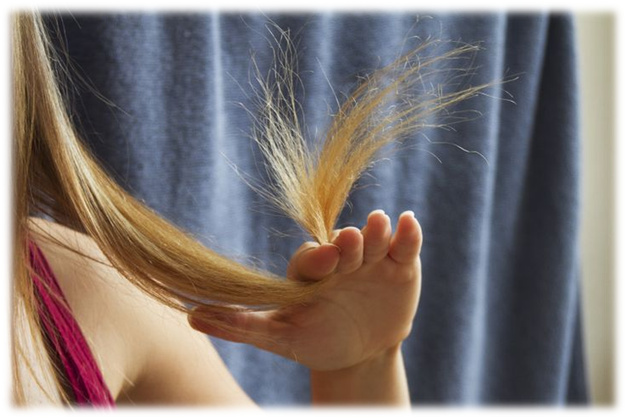 сухие кончики волос что делать