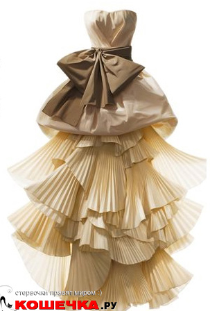 Неординарное свадебное платье
