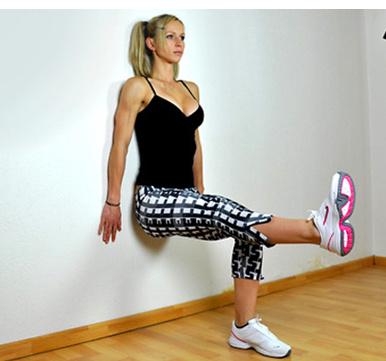 упражнение стенка