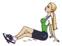 ходьба ногами по стене упражнение