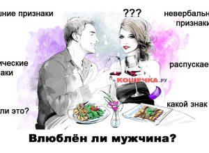 Признаки влюблённого мужчины, которые должна знать каждая!