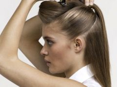 Как заколоть волосы шпильками?